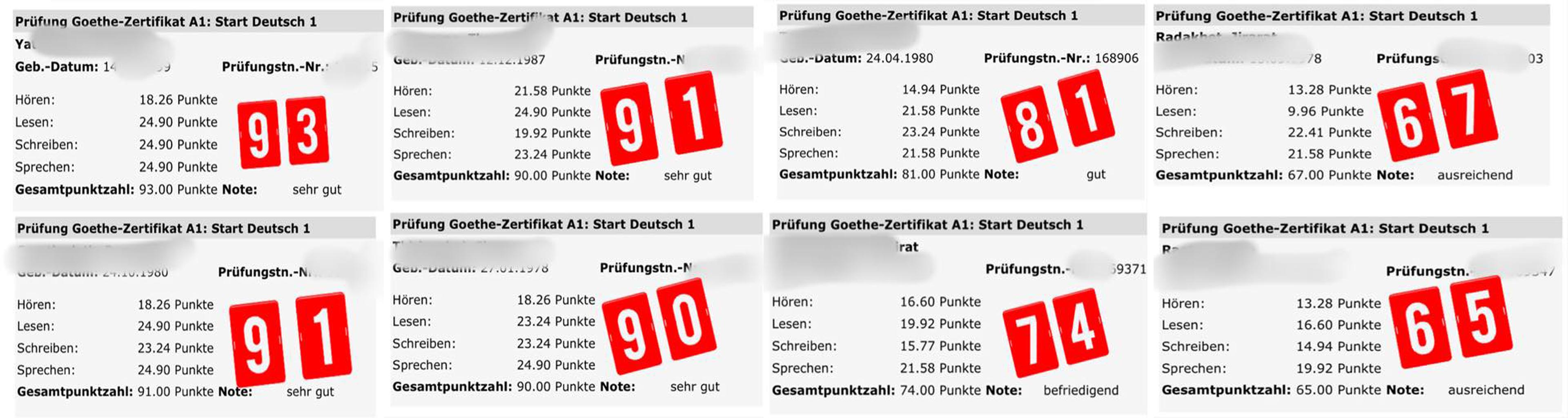 การเรียนภาษาเยอรมันเบื้องต้น A1