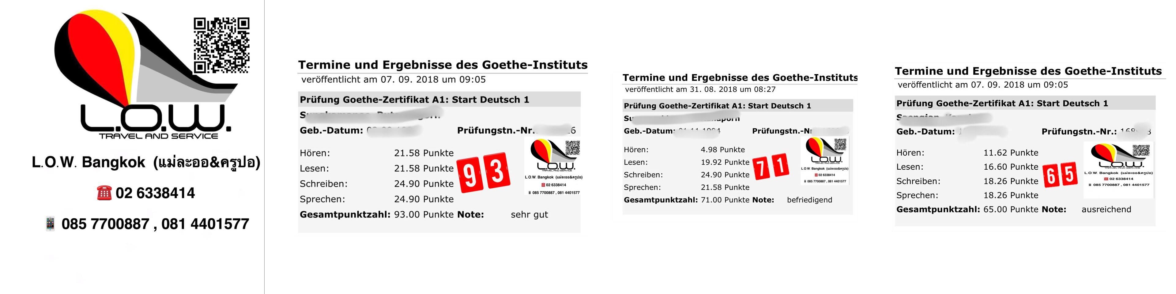 การเรียนภาษาเยอรมันเบื้องต้น A1 ติวสอบ A1